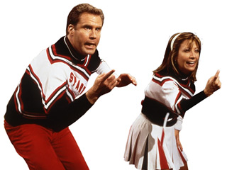 Classic cheerleaders Will Ferrell and Cheri Oteri